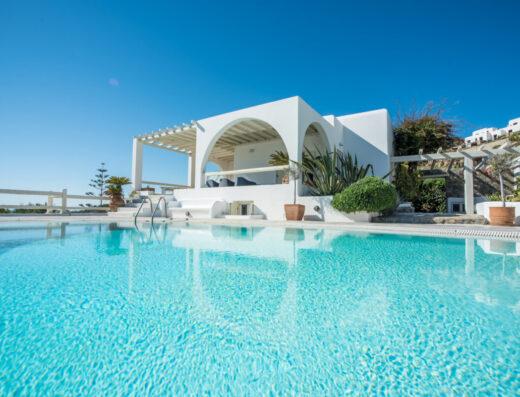 1 MG Villas Mykonos Villa Aura swimming pool