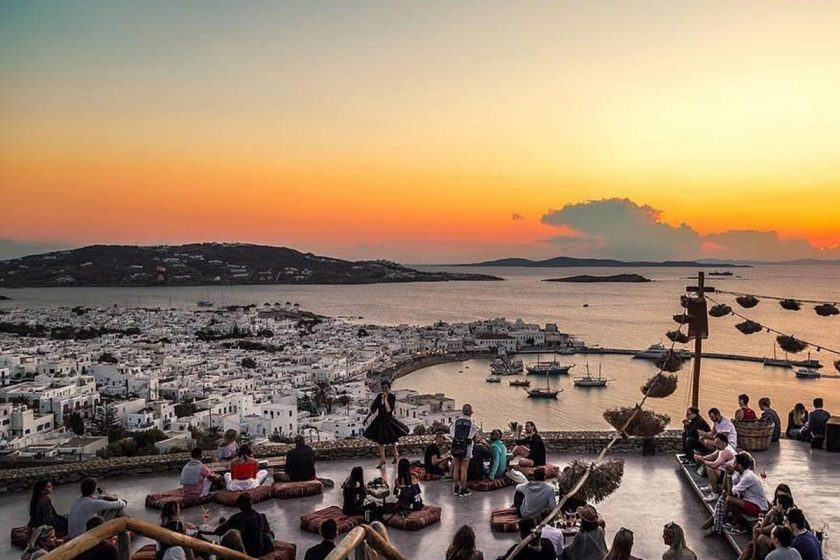 llb mykonos luxury villas mykonos guide 180 sunset bar