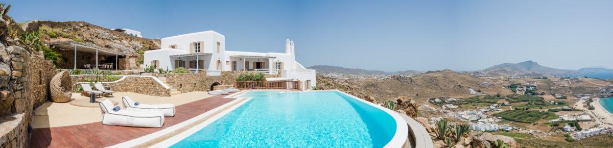 Villa Dione panorama